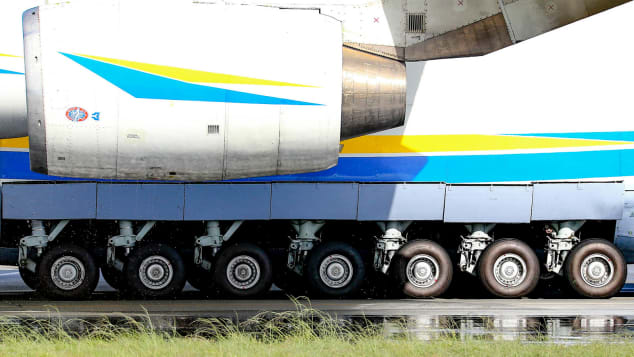 Ruote dell'AN-225