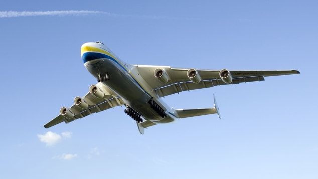 AN-225 in volo
